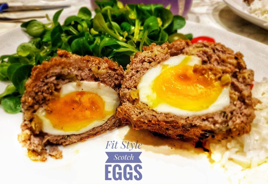 fit style Scotch egg