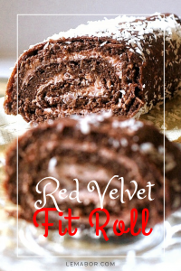 red velvet fitness roll