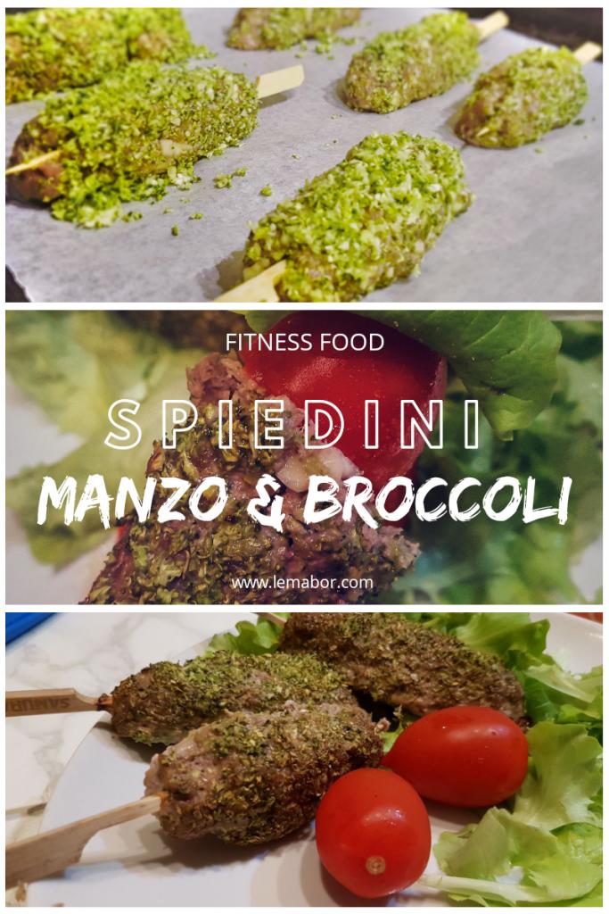 spiedini manzo e broccoli