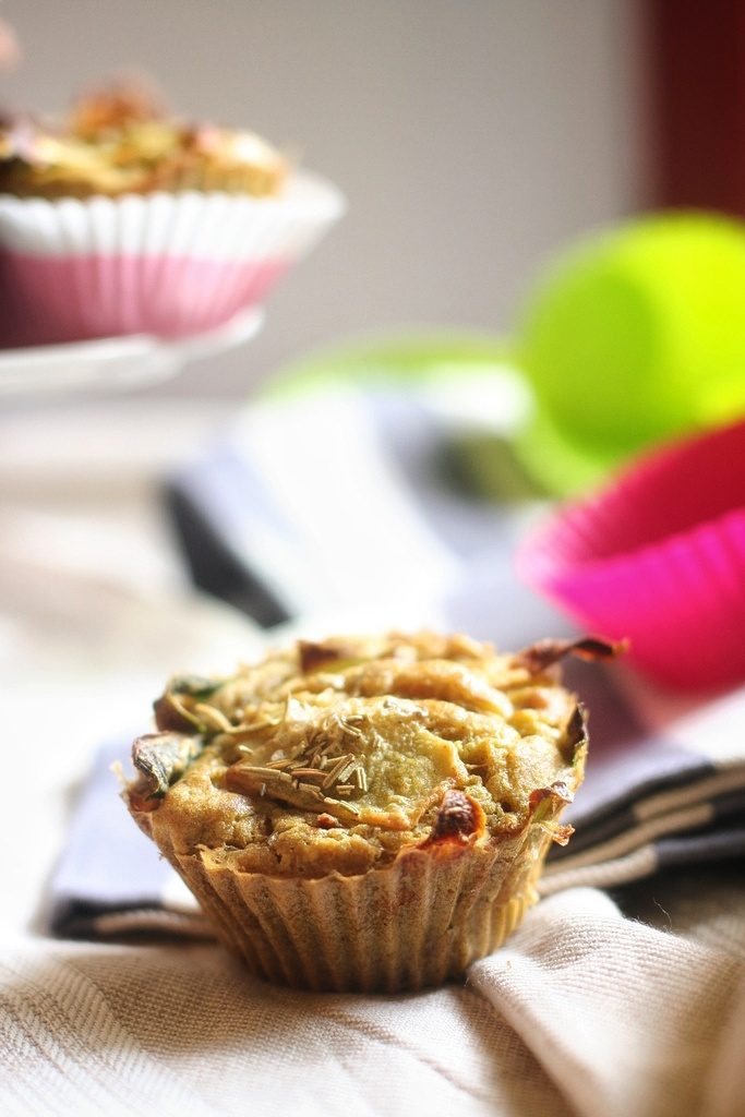 pakora fitness food muffins