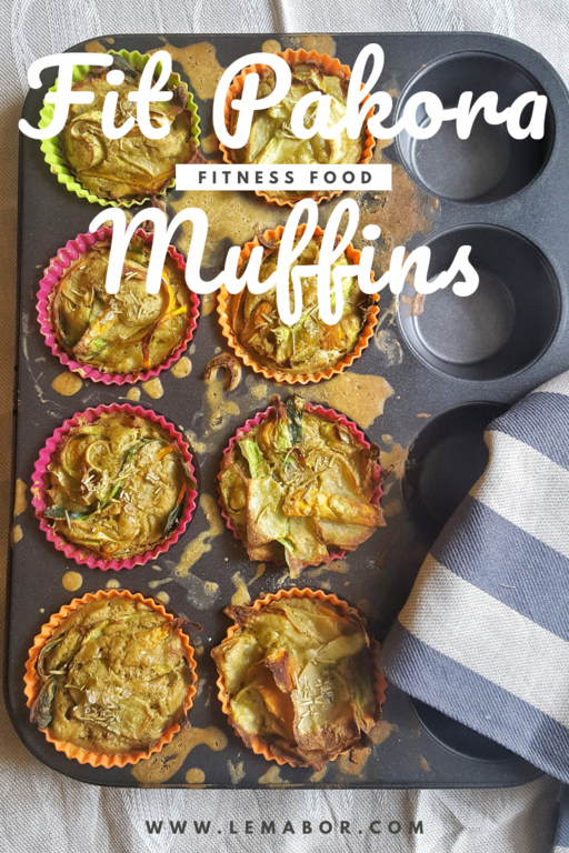 fit pakora muffins