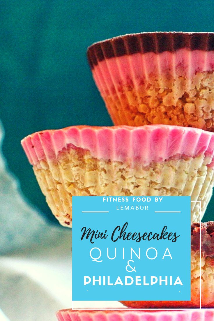 mini cheesecakes di quinoa e philadelphia