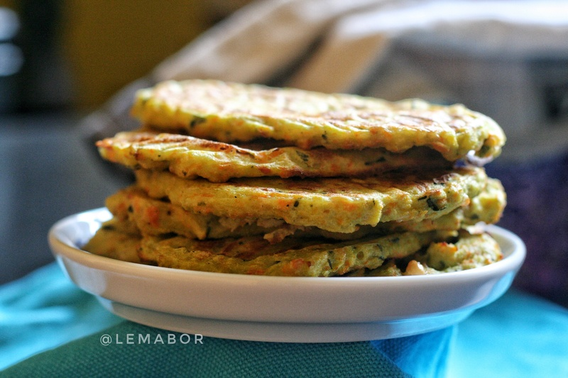 baked green pea flour vegetables pancakes