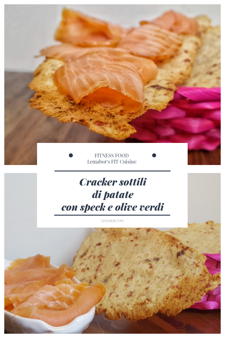 Cracker sottili fitness food style