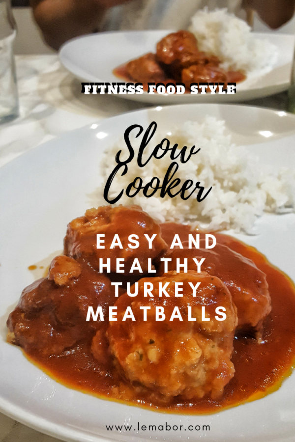 turkey meatballs fitness style