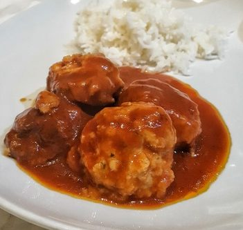 fit and easy slow cooker Turkey meatballs