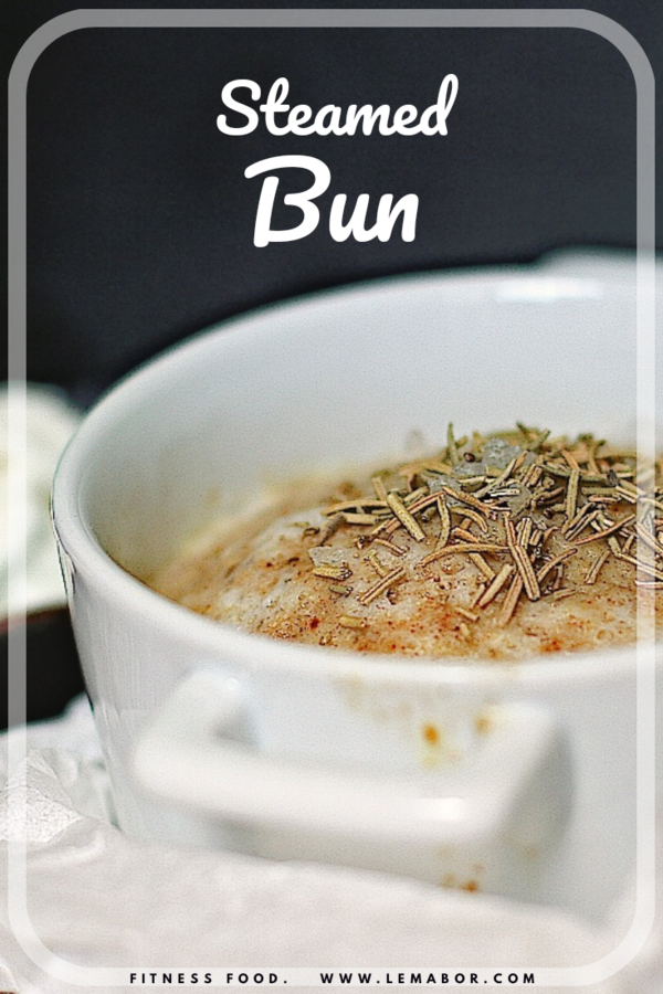 spiced steamed bun healthy fitness food