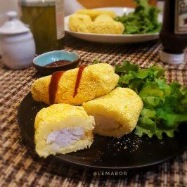 merluzzo in crosta di patate a bastoncini | merluzzo al forno