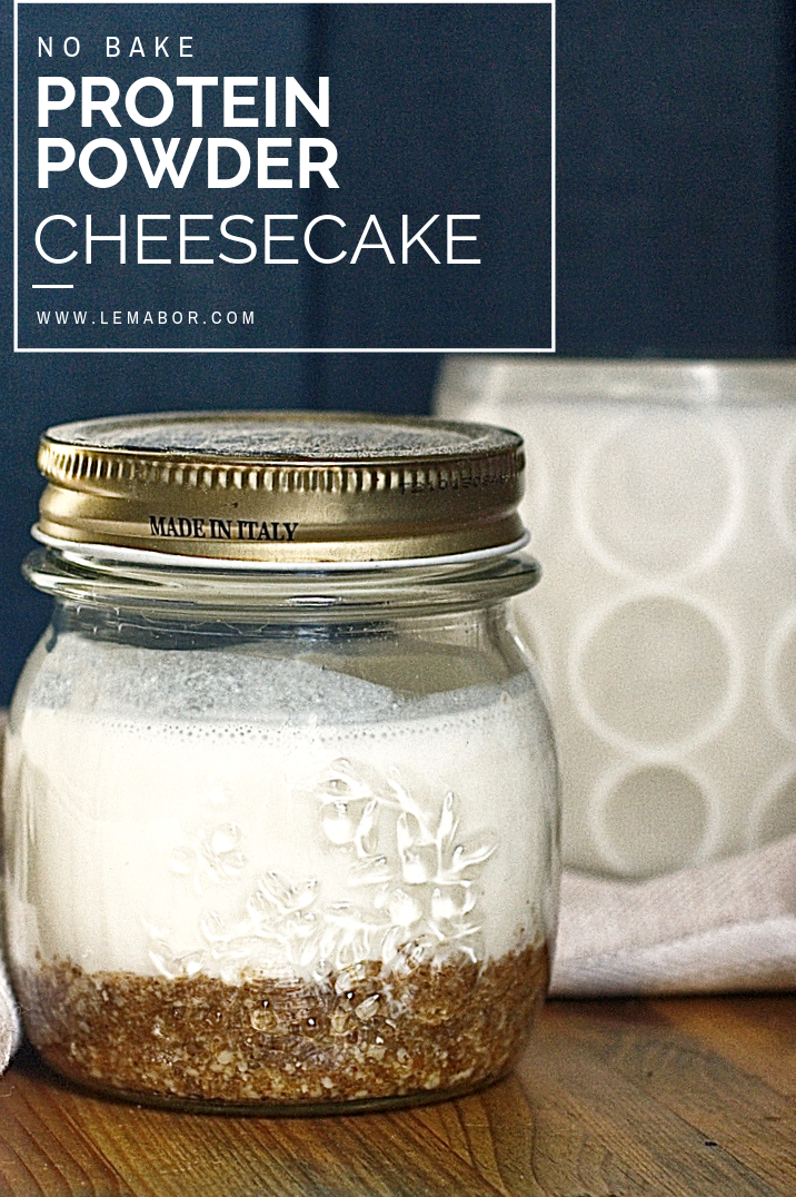 cheesecake protein poder no bake