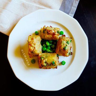 Crocchette di tonno speziate con patate
